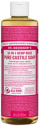 Dr. Bronner's 18-IN-1 Hemp Pure-Castile Soap Organic Rose