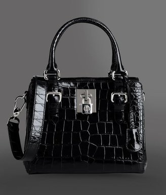 Giorgio Armani Small bag in printed calfskin