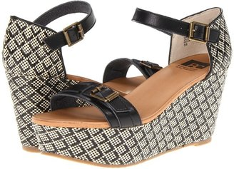 BC Footwear Salt and Pepper Women's Wedge Shoes