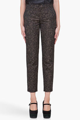 Theyskens' Theory Gold Speckled Padgette Pants