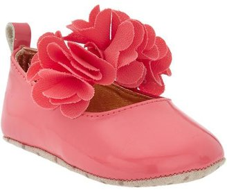 Old Navy Chiffon-Rosette Mary Janes for Baby