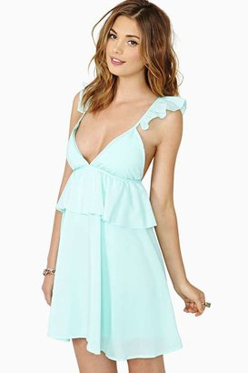 Nasty Gal Reverse Lost In The Sky Dress