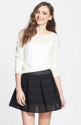 BP Sheer High/Low Pullover (Juniors)