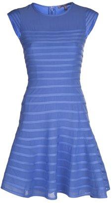 Halston flared skirt dress