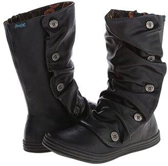Blowfish Rammish (Black Old Sadde Pu) Women's Boots