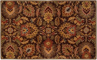 Decor 140 Caesar Black Floral Rug