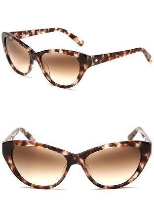 Kate Spade Della Speckled Cateye Sunglasses