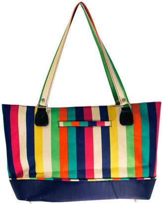 Jenni Chan Multi Stripes 360 Quattro 16-Inch Laptop Overnight Travel Bag