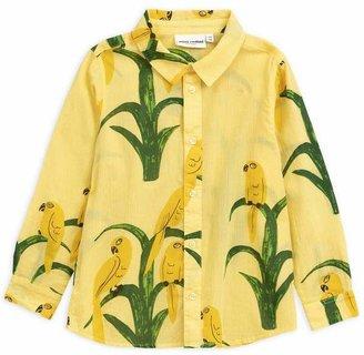 Mini Rodini Parrot Woven Shirt 2-8 Years