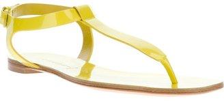 Casadei patent leather sandal