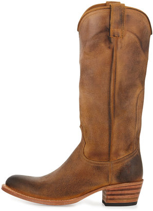 Frye Deborah Pull-On Western Boot, Tab