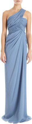 J. Mendel One Shoulder Gown
