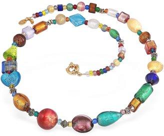 Antica Murrina Fanny - Multicolor Murano Glass Bead Necklace $178 thestylecure.com