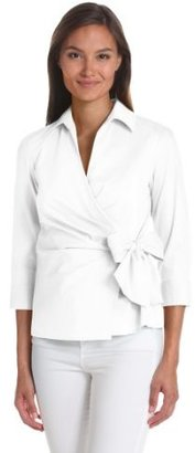 Anne Klein Women's Wrap Blouse