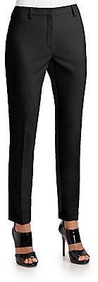 Pringle Bi-Color Stretch Wool Trousers