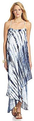 MICHAEL Michael Kors Tie-Dye Asymetric Maxi Dress