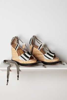 Anthropologie Trey Espadrille Wedges