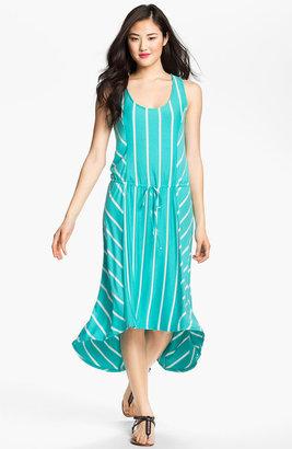 Olivia Moon Stripe High/Low Dress