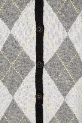 Pringle 1815 Argyle wool cardigan