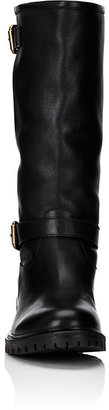 Fendi Women's Double Buckle Knee Boots