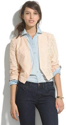 Madewell Modern eyelet jacket
