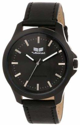 Vestal Unisex HER3L01 Heirloom Leather Blackout Watch