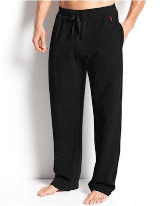Polo Ralph Lauren Men's Loungewear, Solid Thermal Pants $49.50 thestylecure.com