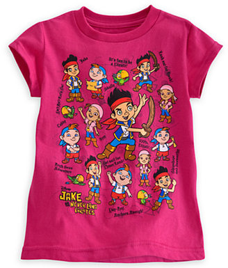 Disney Jake and the Never Land Pirates Tee for Girls