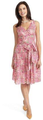 Brooks Brothers Liberty Print Cotton Dress