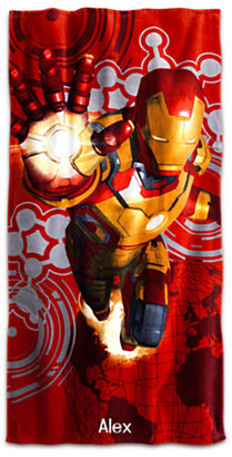 Disney Iron Man 3 Beach Towel - Personalizable