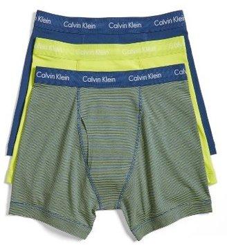 Men's Calvin Klein 3-Pack Boxer Briefs $42.50 thestylecure.com