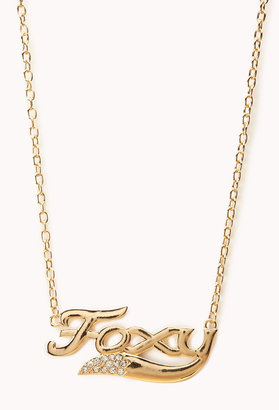 Forever 21 Foxy Chain Necklace