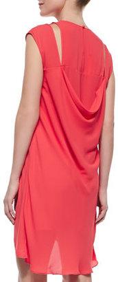 BCBGMAXAZRIA Stacey High-Low Dress