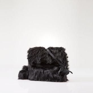 Ralph Lauren Faux-Fur Cross-Body Bag