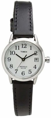 Timex Women's Easy Reader Leather Watch - T2H3319J $54.99 thestylecure.com