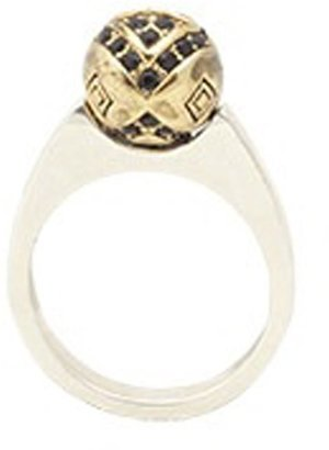 House Of Harlow Engraved Orb Ring