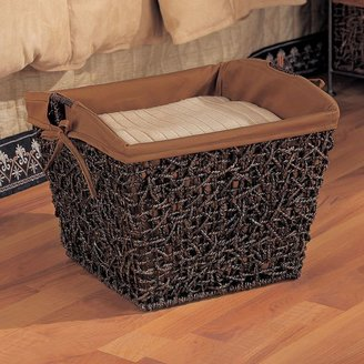 Neu home twisted sea grass basket