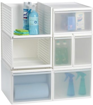 Container Store Like-it® Modular Tall Narrow Drawer White