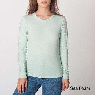 American Apparel Women's Fine Jersey Long-sleeve T-shirt $15.99 thestylecure.com