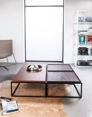Modloft Bedford Powdercoat Steel Coffee Table