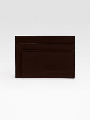 Saks Fifth Avenue Collection Weekender ID Case