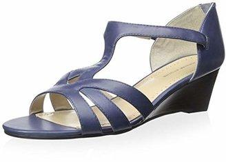 Adrienne Vittadini Footwear Women's Corette Wedge Sandal $28.46 thestylecure.com