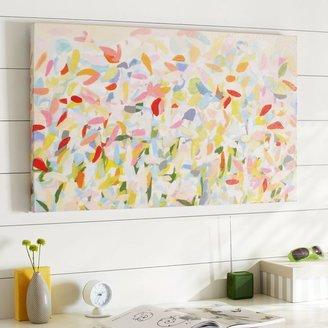 PBteen Petal Canvas Art