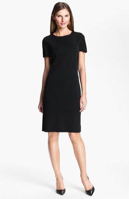 Women's Ming Wang Short Sleeve Dress $225 thestylecure.com