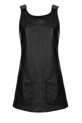 Topshop Petite PU Pini Dress