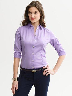 Banana Republic Tailored non-iron sateen shirt