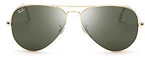 Ray-Ban Unisex Classic Aviator Sunglasses, 55mm