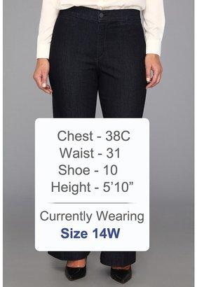 NYDJ Plus Size Plus Size Michelle Trouser Premium Lightweight Denim