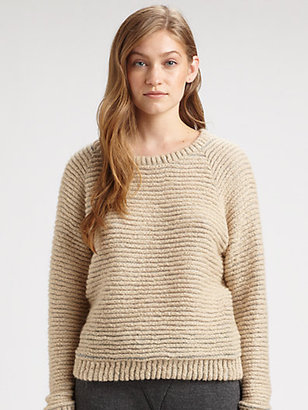 L'Agence Raglan Sweatshirt