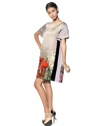 Antonio Marras Printed Silk Radzmir Dress